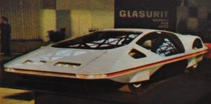 The Pininfarina Modulo ultra-flat styling concept, as featured in Top Trumps